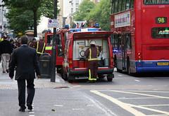 LFB (ln-obt) Tags: london ford fire firetruck firedepartment firebrigade brann brannbil londonfirebrigade lfb brannvesen