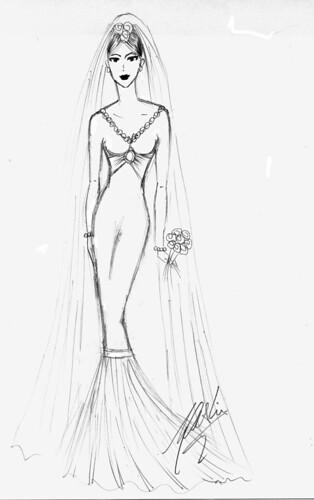O vestido de Mammy by Clodovil por l_inthesky.