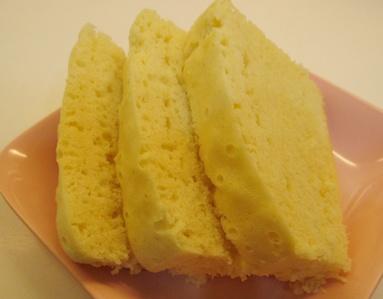 Steamed Sponge Cake 2