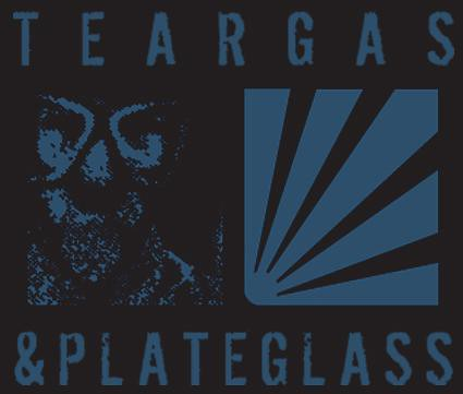 Teargas and Plateglass Logo