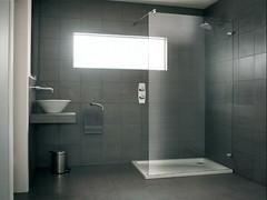 Designa Wet Room Panel (luxury shower enclosures) (showerlux) Tags: modern bathroom shower designer luxury bespoke wetroom designa showerlux