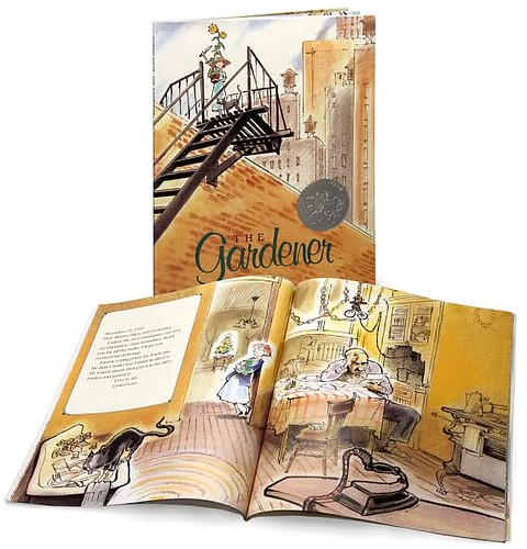 Top 100 Picture Books #92: The Gardener by Sarah Stewart, illustrated by David Small