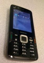 Nokia N82 on my desk