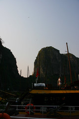 HALONG-20090309-0293 (issrasai) Tags: life old city people lake heritage museum architecture french temple bay pagoda boat town photo ancient vietnamese ship lifestyle literature vietnam limestone historical redriver hanoi cultural halongbay hoankiem hochiminh haiphong oldquarter issrasai