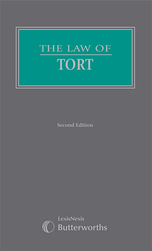 The Law of Tort - 2nd edition. General editor: Ken Oliphant. Butterworths Common Law Series