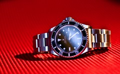 Rolex Submariner 14060M (Andre.L) Tags: black canon eos james steel sub watch ss sean bond oyster chronometer rolex 007 submariner connery perpetual goldfinger nodata certified nodate bezel officially superlative 40d cosc 14060m