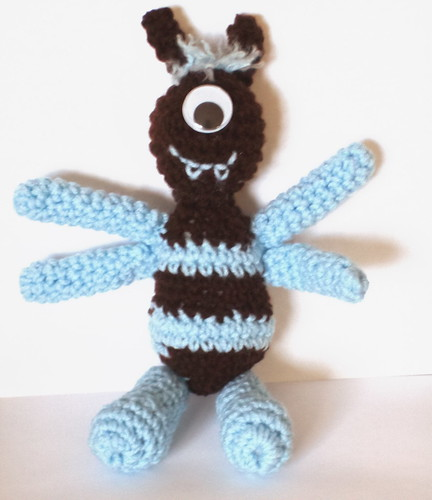 Alex the Monster - Free Pattern