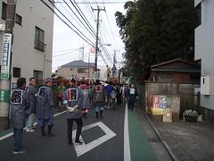 人見街道の太鼓
