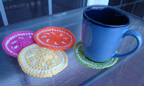 Citrus Fruit Coasters 05
