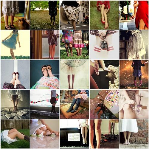 Юбки, ножки и прочее