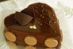 Spring (LynnInSingapore) Tags: food cake dessert chocolate feuilletine mousse praline macaron