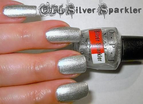 OPI Silver Sparkler