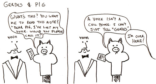 366 Cartoons - 071 - Gerdes and Pig