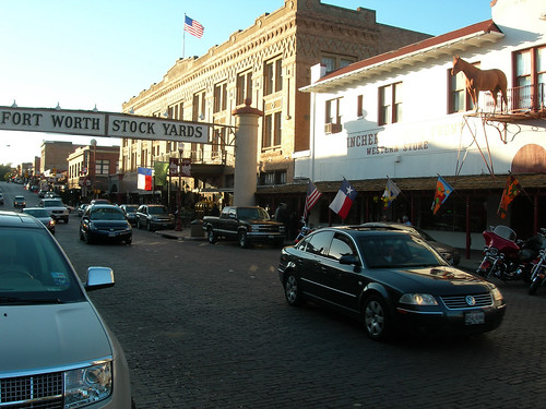 Fort Worth's Historic Stockyward's District