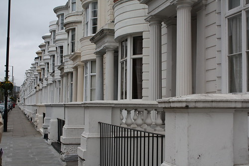 London terraces