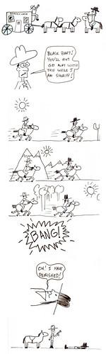 366 Cartoons - 073 - Black Bart