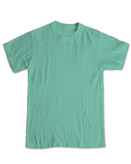 New Blank Front - Mint/Lime (ir0cko) Tags: mint front blank threadless onwhite tee