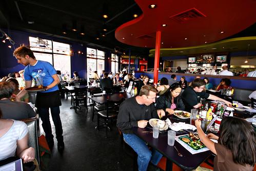 Inside Longfellow Grill