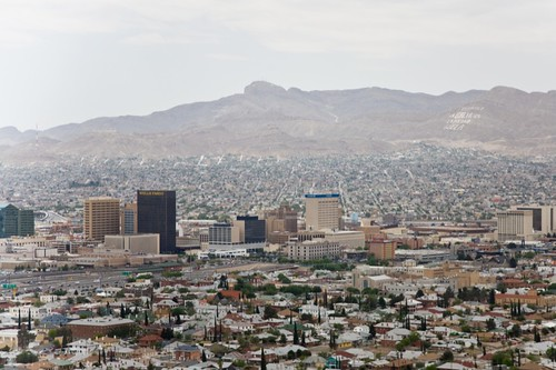 From flickr.com: El Paso & Ciudad Jua'rez from Scenic Drive {MID-72233}