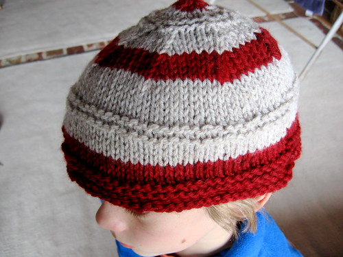 the long awaited hat for Son #2