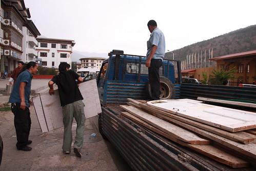 Volunteers in Thimphu