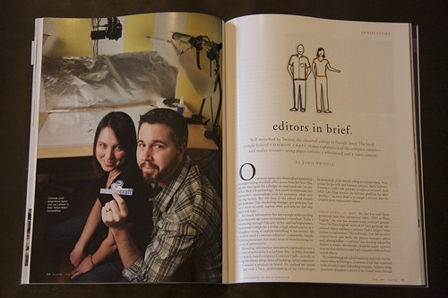 Seattle Magazine - Common Craft Feature by you.