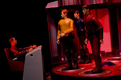 The Big 3 Beta (3) Edit (Dysonstarr) Tags: startrek toys actionfigures spock scotty kirk diarama transporter mccoy playsets playmatestoys startrektoys jjabrahmsstartrek