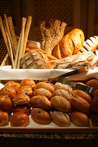 Delicious artisan breads