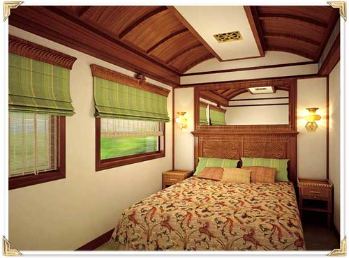 Maharajas Express cabin suite