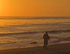 Lonely with a broken heart (Damian Gadal) Tags: california sunset beach santabarbara geotagged nikon nikond100 d100 february 2009 arroyoburrobeach