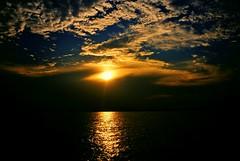 Sunset, Keppel Bay