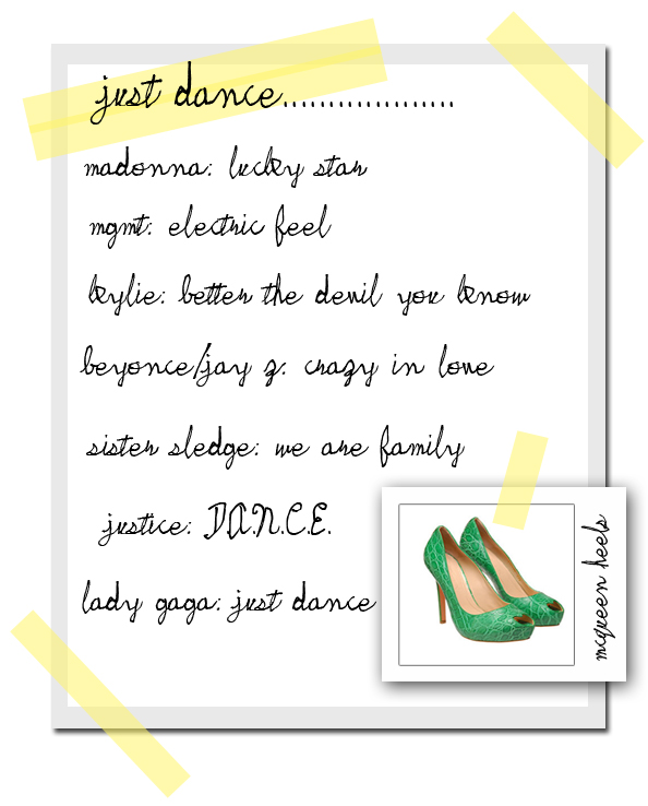 just dance list