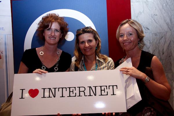 Nosotras e Internet. Foto en flickr de codiceinternet