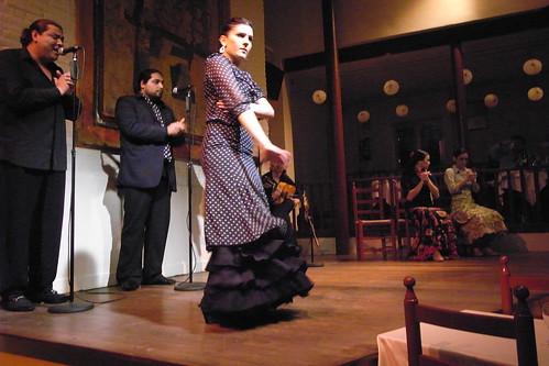 Flamenco in Poble Espanyol