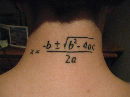 Fórmula para resolver ecuaciones de segundo grado