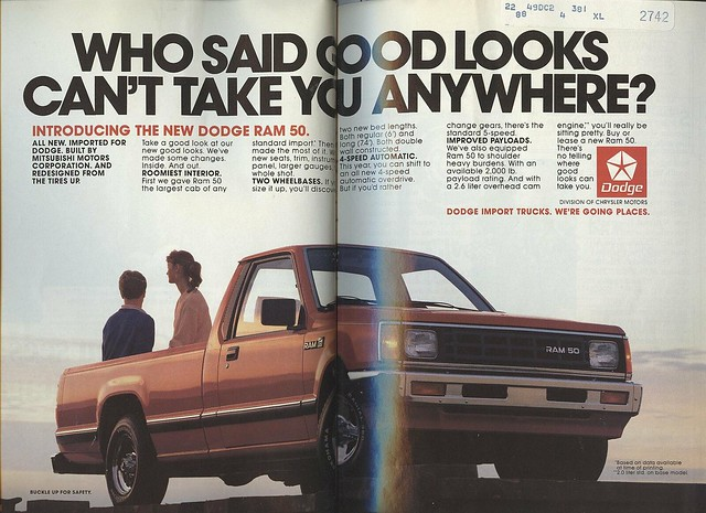 people 1987 horizon pickuptruck dodge 1980s