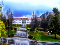 Asklepios Stadtklinik Bad Tlz (gatowlion) Tags: vacation germany bayern bavaria hotel urlaub bad alpamare tlz toelz jodquellenhof jodsole