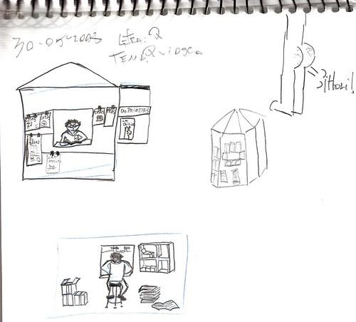 Mi memoria en dibujos 17 (Q. Quiosco, Trasero que saluda)