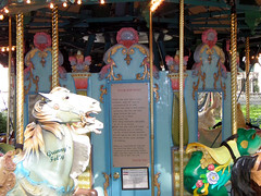 Bryant Park Carousel! 8