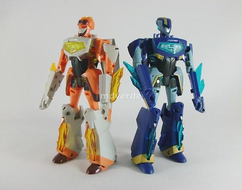 Transformers Jetstorm & Jetfire Animated Deluxe - modo robot
