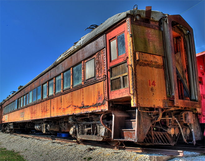 South Shore & South Bend Railroad car #14