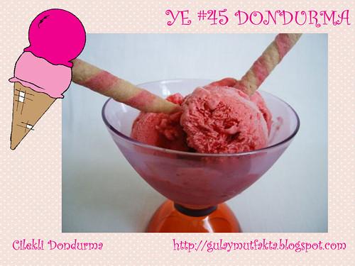 Cilekli Dondurma - Gulay Mutfakta