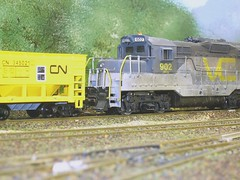 Working the mines (d13m7 - 3/4 of a Million views!! Many Thanks!!) Tags: cars scale layout model models trains hobby rails trucks ho modelrailroad modelrailway hoscale modelrailroading valleycentral valleycentralrailway