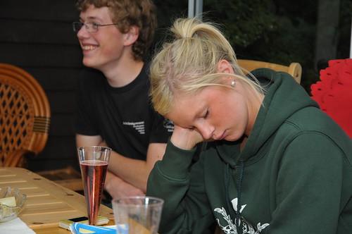 Ellen börjar bli lite sömnig by Anton Lundin.