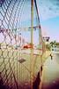 fence (oscar_tramor) Tags: blue analog fence lomo lca xpro lomography dof cross ct slide dia kingston jamaica agfa zaun processed jamaika precisa oscartramorphotography