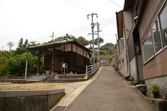 円通寺への坂道
