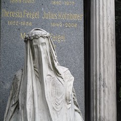 Veiled Woman Statue