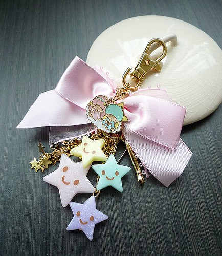 littleTwinStar key chain