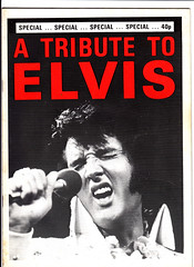 A Tribute to Elvis (Pagan555) Tags: elvis theking fanmags musicmagazines
