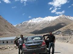 Road to Khardungla pass (keedap) Tags: road trip india deepak pass deep leh gauri ladakh abhay naveen surinder khardugla
